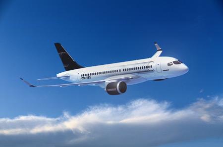 Bombardier C-Series jet