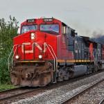 CN Rail train - image
