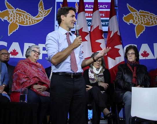 Justin Trudeau - Toronto 2015 - smaller