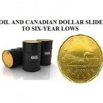 oil and dollar slide