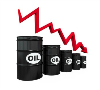 oil on the decline