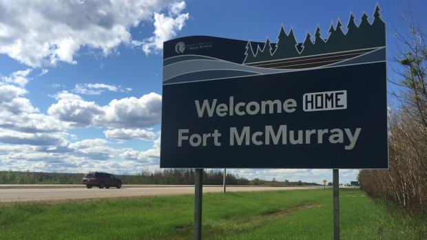 Fort McMurray sign