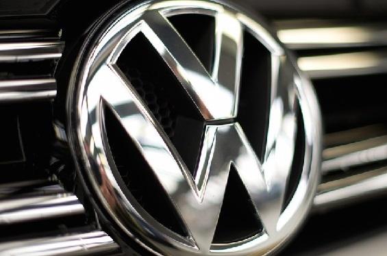 Volkswagen logo chrome