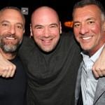 UFC owners - Fertitta brothers and Dana White