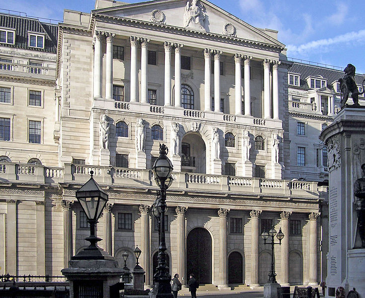 Bank of England headquarters in London