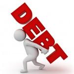 debt increases