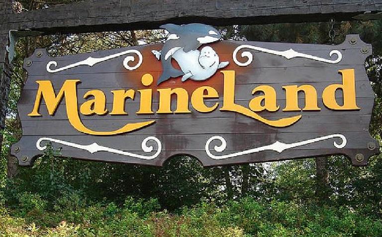 Marineland Sign