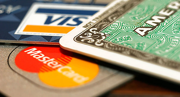 Various Credit Cards
