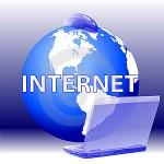 Internet - globe