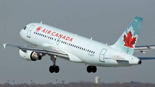 AIr Canada plane 3