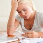 stressed over bills - depositphotos