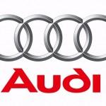 Audi Logo red