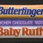 Baby ruth and butterfinger