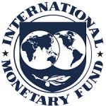 IMF logo blue