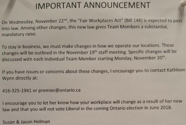 first image of Three Changes To Election Law Coming Along For May with Blame Kathleen Wynne: Tim Hortons Franchise Owners, The ...