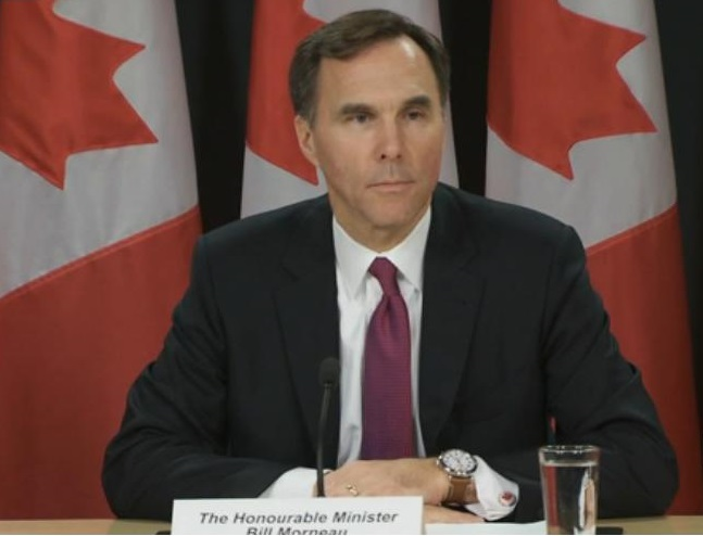 Bill Morneau - Finance Minister address