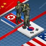 North and South Korea depositphotos