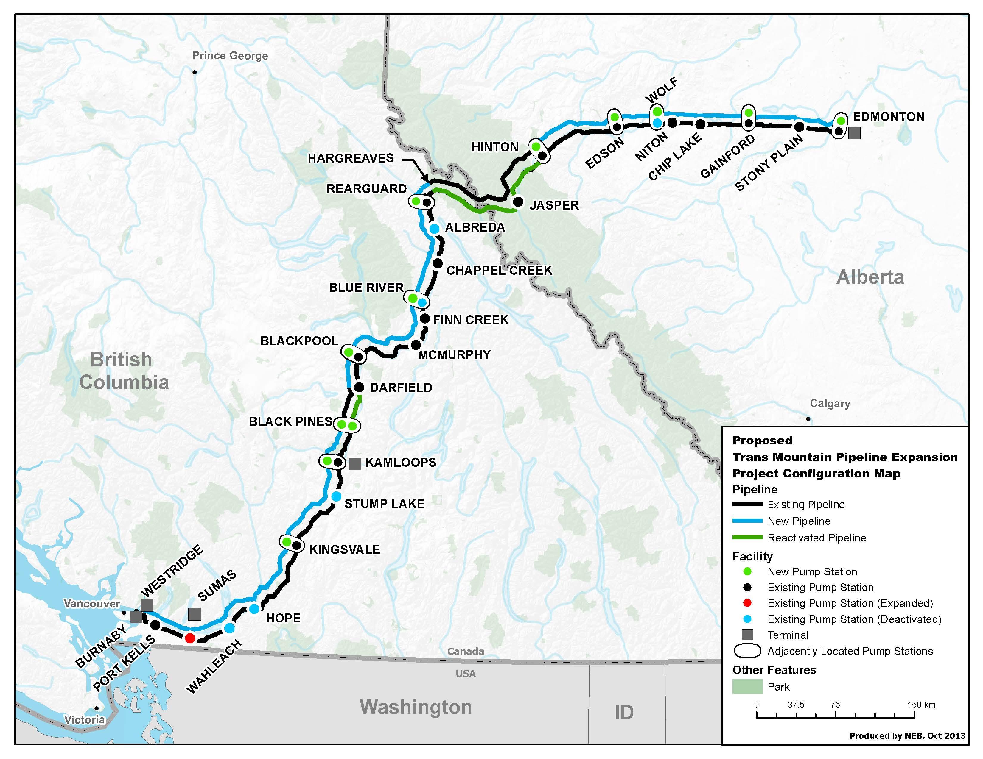 Trans Mountain pipeline - GC