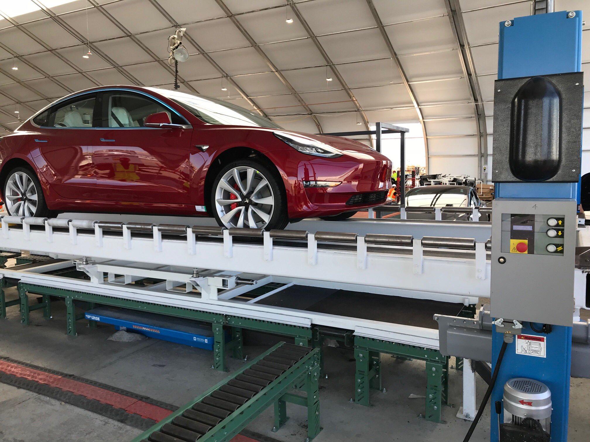 Tesla - manufacturing plant