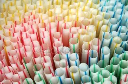 plastic straws - depositphotos