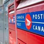 Canada Post box