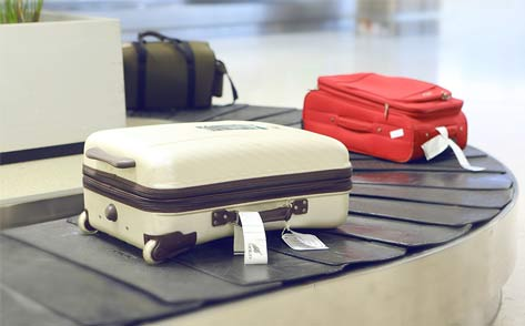 airline luggage - baggage