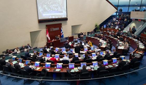 Toronto City Council - chambers