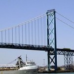 Ambassador Bridge -day