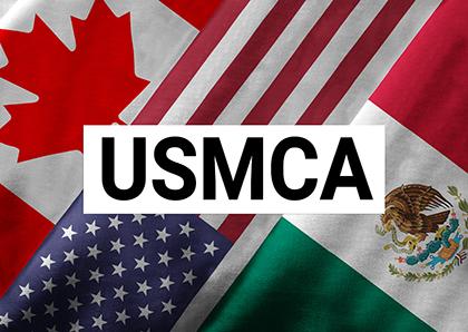 USMCA - logo - flags