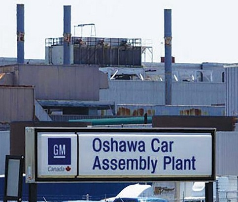 GM Oshawa Car Assembly Plant