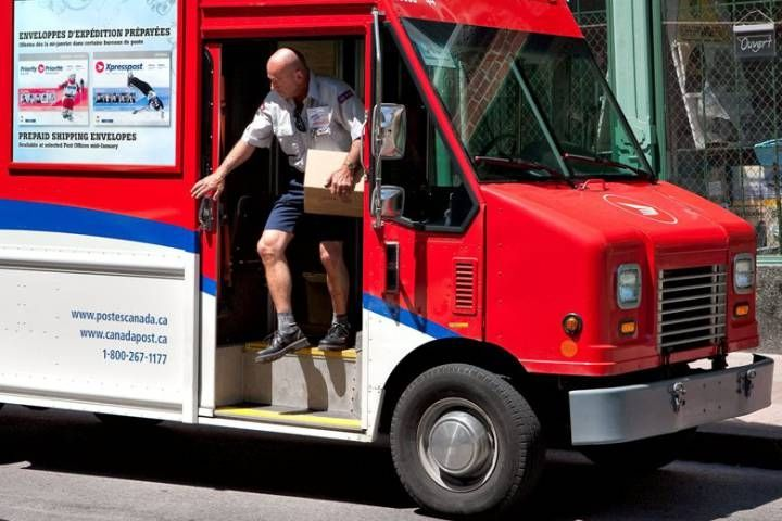 Canada Post letter carrier 2