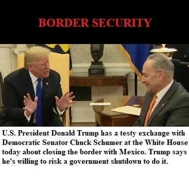 Trump - Schumer - Border