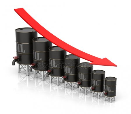 oil decline - depositphotos