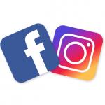 Facebook Instagram - logos