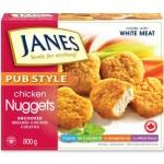 Janes chicken nuggets
