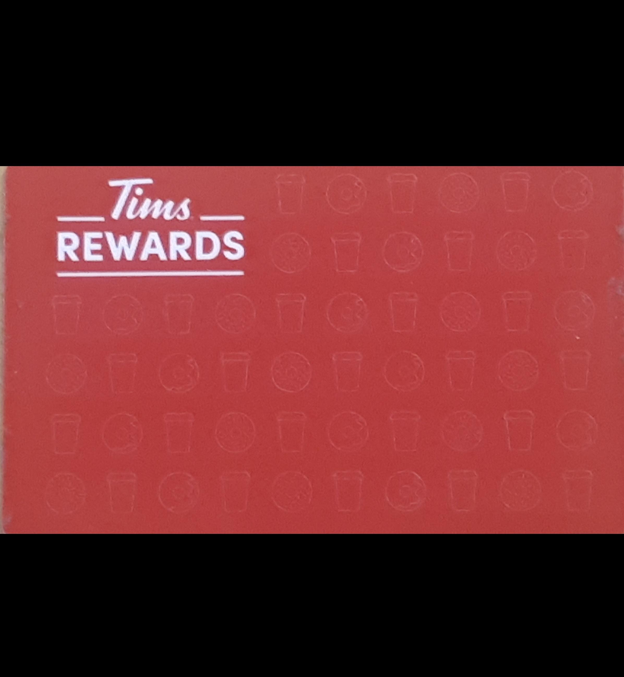 Tims Card