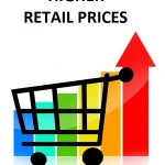 retail prices higher