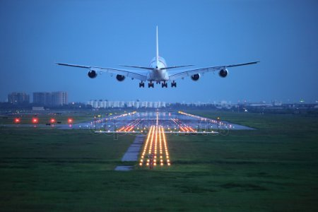 airplane takeoff - depositphotos