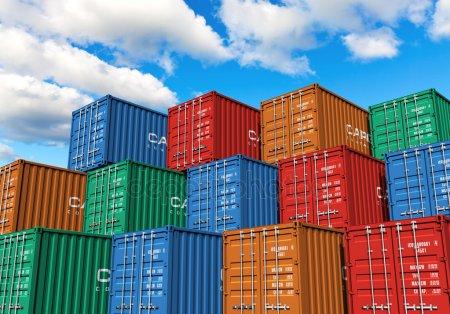 shipping port - depositphotos