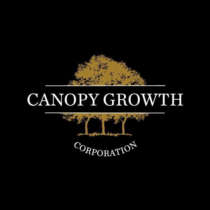 Canopy Growth logo - black