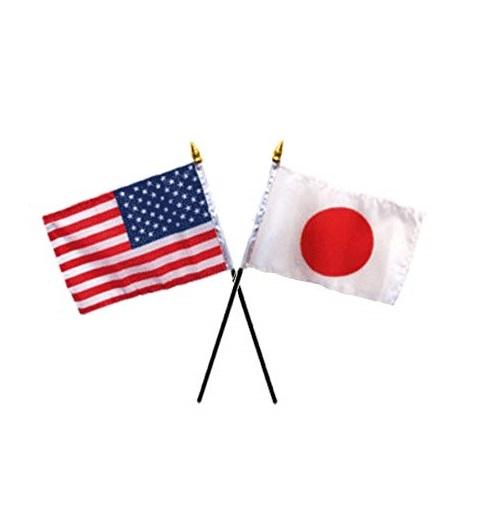 US - Japan flags - trade