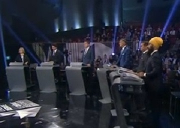 Debate - all six - closeup