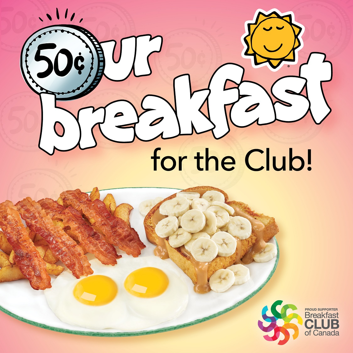 Cora Breakfast and Lunch dedicates a dish to Breakfast Club of Canada