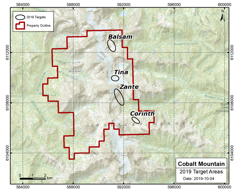 Monterey Minerals Reports on the 2019 Field Work Program Underway at Cobalt Mountain Property in BC