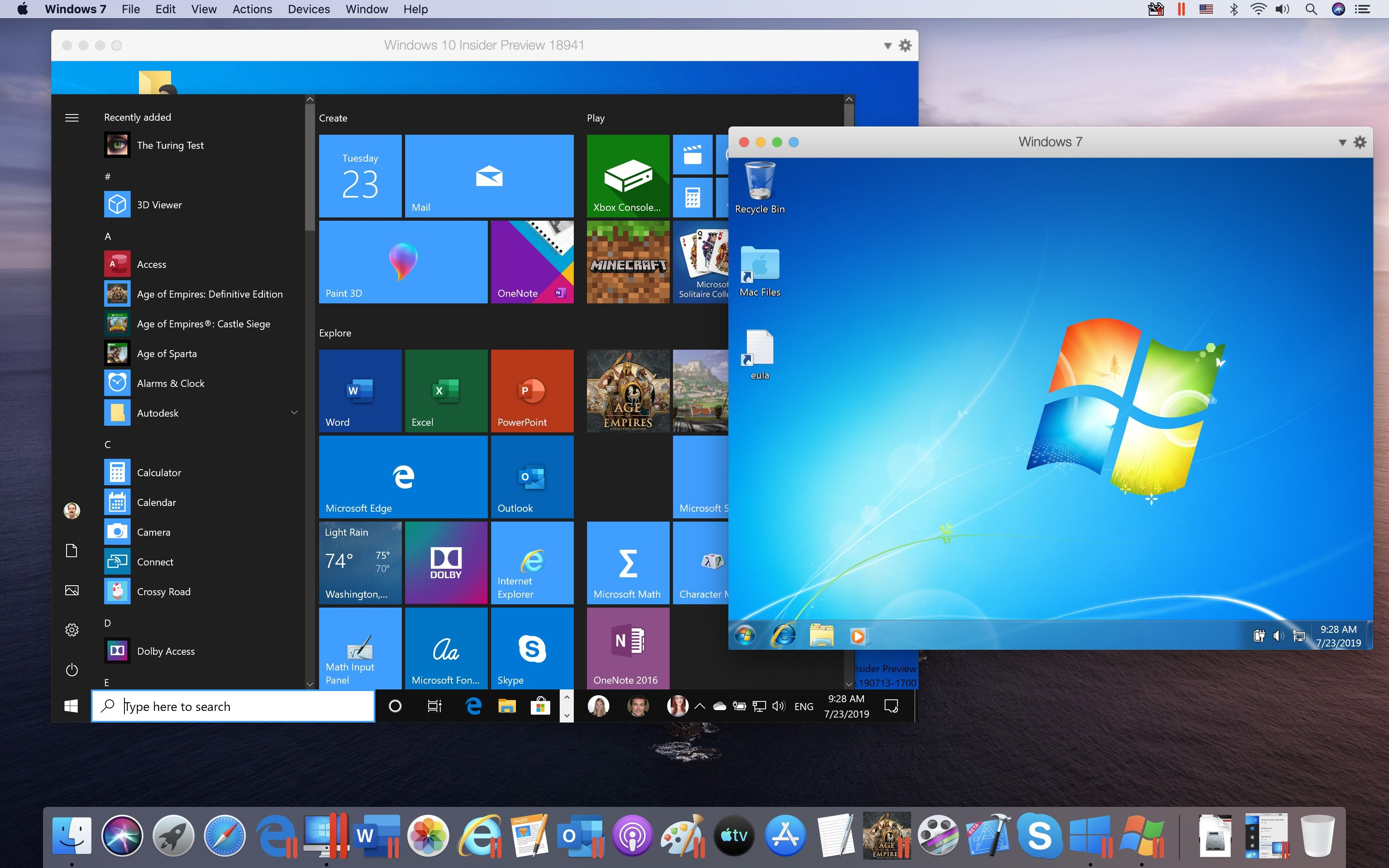 Parallels Desktop 15 for Mac Fully Supports macOS 10