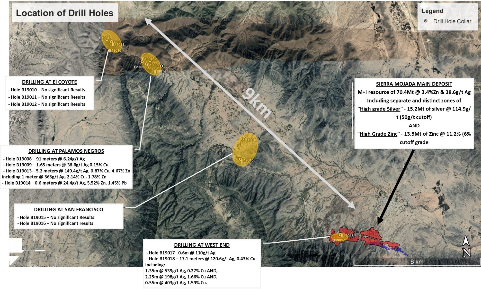 Silver Bull Intercepts 17.1 Meters of Mineralization Grading 120g/t Silver and 0.43% Copper, Including 2.25 Meters Grading 198g/t Silver and 1