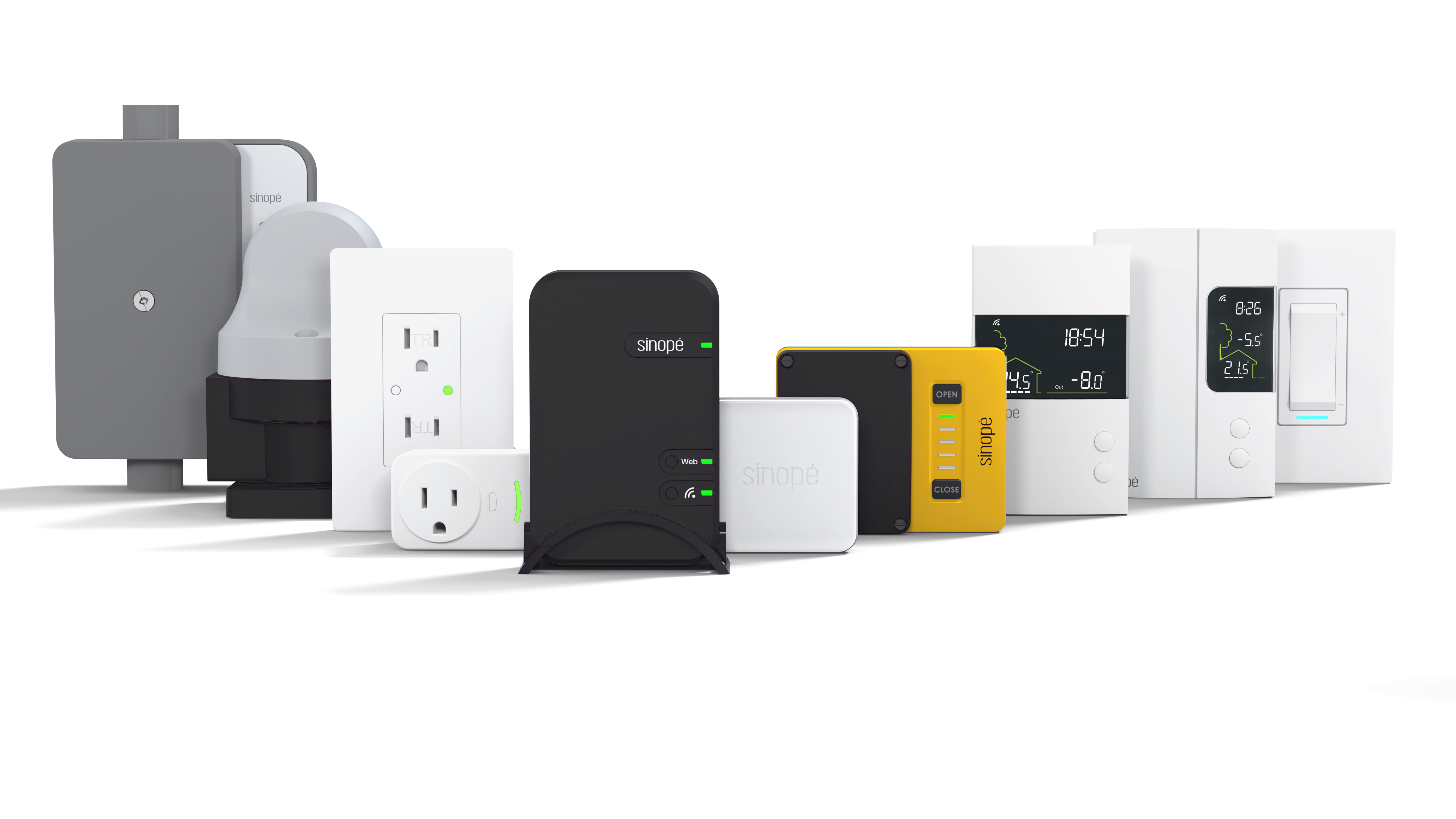 Sinopé Technologies becomes North America's largest smart home devices manufacturer specialized in energy efficiency with its new ecosystem