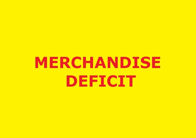 Merchandise deficit