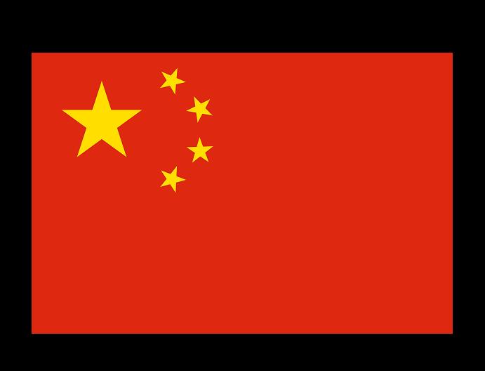 China flag --