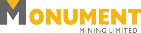 Monument Commences Exploration Drilling Program at Murchison Gold Project in Western Australia